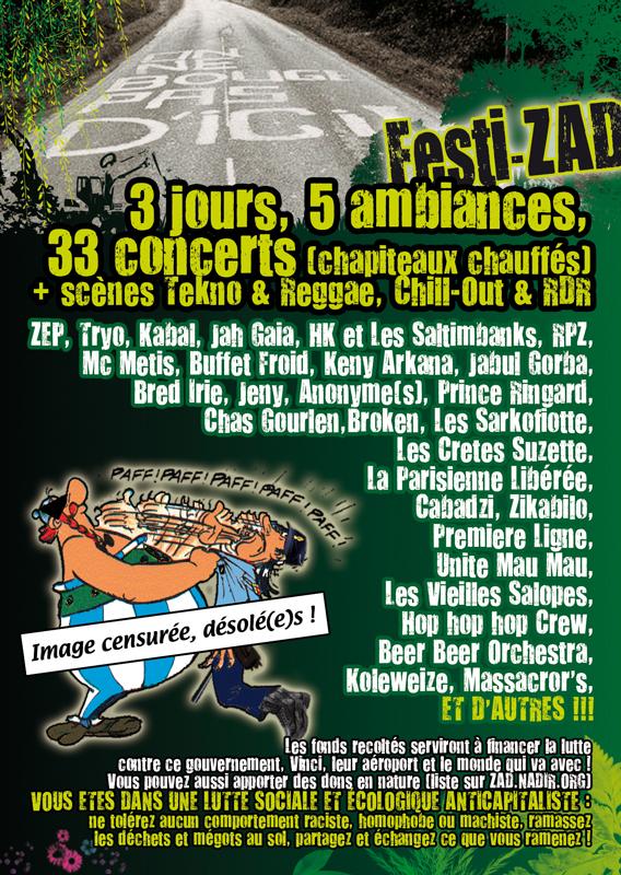 FestiZAD Flyer